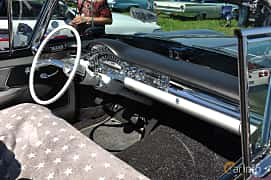 Interior of Oldsmobile Ninety-Eight Convertible Coupé 6.1 V8 Hydra-Matic, 309ps, 1958 at Wheels & Wings 2013
