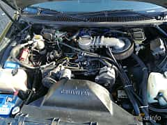 Engine compartment  of Oldsmobile Custom Cruiser 5.0 V8 Hydra-Matic, 173ps, 1991