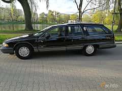 Side  of Oldsmobile Custom Cruiser 5.0 V8 Hydra-Matic, 173ps, 1991