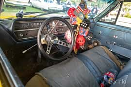 Interior of Oldsmobile F-85 Deluxe Sedan 5.4 V8 Manual, 213ps, 1964 at Billesholms Veteranbilsträff 2019 augusti