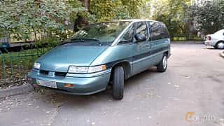 Fram/Sida av Oldsmobile Silhouette 3.1 V6 Automatic, 120ps, 1990