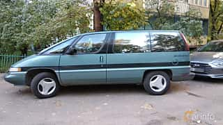 Sida av Oldsmobile Silhouette 3.1 V6 Automatic, 120ps, 1990