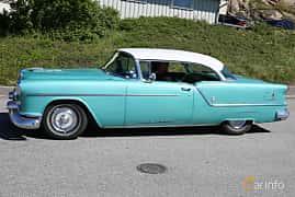 Sida av Oldsmobile Super 88 Holiday Coupé 5.3 V8 Hydra-Matic, 188ps, 1954 på Cruising Lysekil 2019