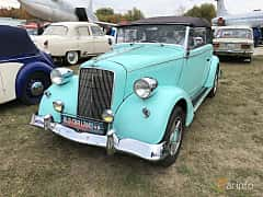 Front/Side  of Opel 2.0 Litre Cabriolet 1.9 Manual, 36ps, 1934 at Old Car Land no.2 2019