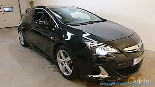 Front/Side  of Opel Astra OPC 2.0 SIDI Turbo ecoFLEX  Manual, 280ps, 2013