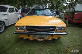 Front  of Opel Commodore Coupé 2.8 Automatic, 155ps, 1977 at Billesholms Veteranbilsträff September / 2015