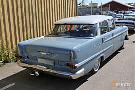 Back/Side of Opel Kapitän 4-door Sedan 2.6 Manual, 100ps, 1964 at Cruising Lysekil 2019