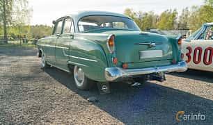 Back/Side of Opel Kapitän 4-door Sedan 2.5 Manual, 75ps, 1957 at Lissma Classic Car 2019 vecka 20