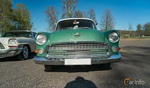 Front  of Opel Kapitän 4-door Sedan 2.5 Manual, 75ps, 1957 at Lissma Classic Car 2019 vecka 20