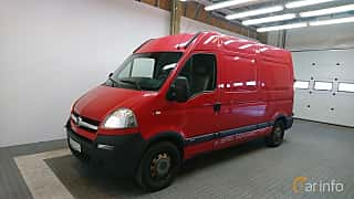 Front/Side  of Opel Movano Van 2.5 DTI Quickshift, 114ps, 2005