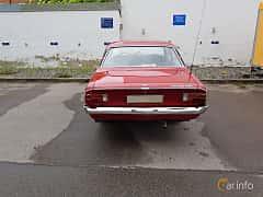 Back of Opel Rekord 2-door 1.7 S Manual, 75ps, 1968