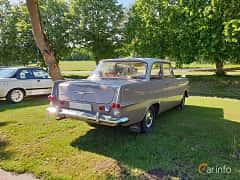Back/Side of Opel Rekord 2-door 1.7 Manual, 55ps, 1962 at Eddys bilträff Billesholm 2019 Tema Opel och Chevrolet
