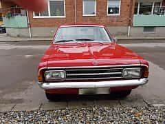 Front  of Opel Rekord 2-door 1.7 S Manual, 75ps, 1968