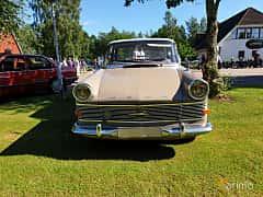 Front  of Opel Rekord 2-door 1.7 Manual, 55ps, 1962 at Eddys bilträff Billesholm 2019 Tema Opel och Chevrolet
