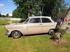 Side  of Opel Rekord 2-door 1.7 Manual, 55ps, 1962 at Eddys bilträff Billesholm 2019 Tema Opel och Chevrolet