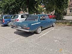 Bak/Sida av Opel Rekord 4-door 1.7 Manual, 67ps, 1965