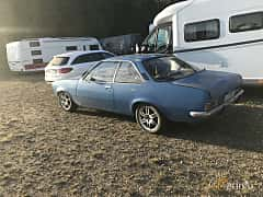 Back/Side of Opel Rekord Coupé 1.9 S Manual, 97ps, 1972