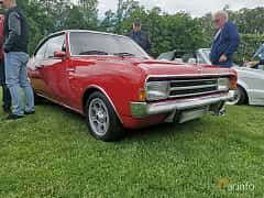 Front/Side  of Opel Rekord Coupé 2.2 Manual, 95ps, 1968 at Sofiero Classic 2019