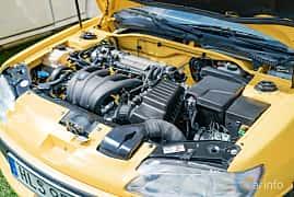 Engine compartment  of Peugeot 306 Cabriolet 2.0 Manual, 132ps, 1997 at Fest För Franska Fordon  på Taxinge slott 2019