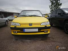 Front  of Peugeot 306 Cabriolet 2.0 Manual, 121ps, 1996 at Classic Car Week Rättvik 2016