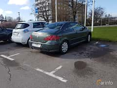 Back/Side of Peugeot 307 CC 2.0 Manual, 136ps, 2004