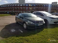 Front/Side  of Peugeot 307 CC 2.0 Manual, 136ps, 2004