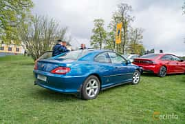 Back/Side of Peugeot 406 Coupé 3.0 V6 Manual, 190ps, 1999 at Fest För Franska Fordon  på Taxinge slott 2019