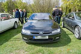 Front  of Peugeot 406 Coupé 3.0 V6 Manual, 207ps, 2002 at Fest För Franska Fordon  på Taxinge slott 2019