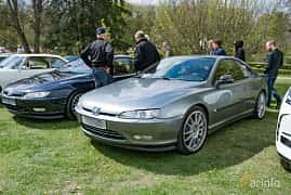 Front/Side  of Peugeot 406 Coupé 3.0 V6 Manual, 207ps, 2001 at Fest För Franska Fordon  på Taxinge slott 2019