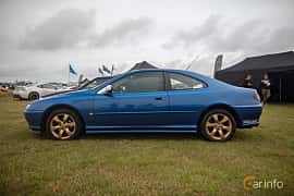 Side  of Peugeot 406 Coupé 2.2 Manual, 158ps, 2003 at Vallåkraträffen 2019