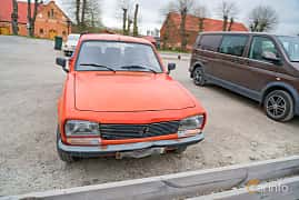 Front/Side  of Peugeot 504 Pickup 1.8 Manual, 80ps, 1991 at Fest För Franska Fordon  på Taxinge slott 2019