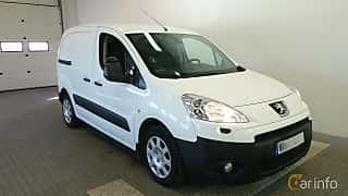 Fram/Sida av Peugeot Partner Van 1.6 HDi Manual, 92ps, 2011