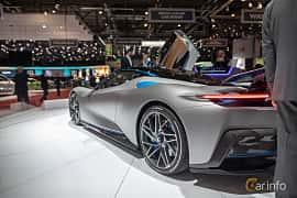 Bak/Sida av Pininfarina Battista 120 kWh AWD Single Speed, 1903ps, 2020 på Geneva Motor Show 2019