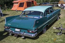 Back/Side of Plymouth Belvedere 4-door Sedan 5.2 V8 TorqueFlite, 233ps, 1959 at Nostalgifestivalen i Vårgårda 2016