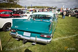 Back of Plymouth Belvedere 4-door Sedan 5.2 V8 TorqueFlite, 233ps, 1959 at Tjolöholm Classic Motor 2015