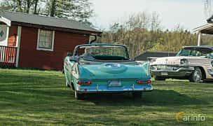Back/Side of Plymouth Sport Fury Convertible 5.2 V8 TorqueFlite, 264ps, 1959 at Lissma Classic Car 2019 vecka 20