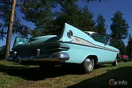 Back/Side of Plymouth Sport Fury 2-door Hardtop 5.9 V8 TorqueFlite, 309ps, 1959
