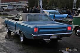 Back/Side of Plymouth Road Runner Hardtop 6.3 V8 TorqueFlite, 340ps, 1969 at Kungälvs Kulturhistoriska Fordonsvänner  2019 Torsdag vecka 35