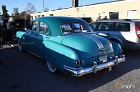 Back/Side of Pontiac Chieftain 4-door Sedan 3.9 Hydra-Matic, 94ps, 1949