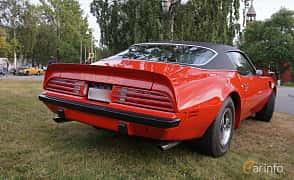 Back/Side of Pontiac Firebird Trans Am 7.5 V8 Manual, 294ps, 1974 at Onsdagsträffar på Gammlia Umeå 2019 vecka 32