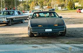 Front  of Pontiac Firebird 5.0 V8 Automatic, 230ps, 1987 at Wheelers Cruising, Vetlanda 2019