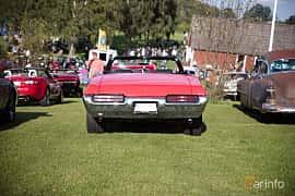 Bak av Pontiac GTO Convertible 6.6 V8 Automatic, 1969 på Bil & Mc-café vid Tykarpsgrottan v.33 (2017)