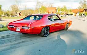 Back/Side of Pontiac LeMans Sport Coupé 4.1 Hydra-Matic, 178ps, 1969 at Wheelers Cruising, Vetlanda 2019