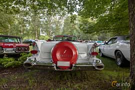 Back of Pontiac Star Chief Convertible 5.7 V8 Hydra-Matic, 294ps, 1957 at Billesholms Veteranbilsträff 2019 augusti