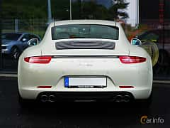 Back of Porsche 911 Carrera S 3.8 H6 Manual, 400ps, 2014