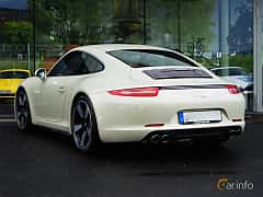 Back/Side of Porsche 911 Carrera S 3.8 H6 Manual, 400ps, 2014