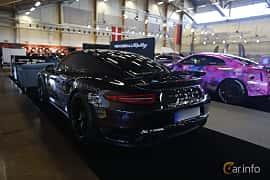 Bak/Sida av Porsche 911 Turbo S 3.8 H6 4 PDK, 560ps, 2014 på Bilsport Performance & Custom Motor Show 2019
