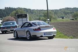Bak/Sida av Porsche 911 Turbo 3.6 H6 4 Manual, 420ps, 2001 på Tjolöholm Classic Motor 2017