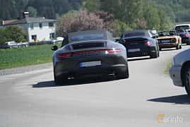 Back of Porsche 911 4 GTS Cabriolet 3.8 H6 4 PDK, 430ps, 2015 at Tjolöholm Classic Motor 2017
