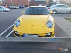 Front of Porsche 911 Turbo 3.6 H6 4 TipTronic S, 480ps, 2007
